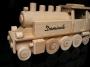 Lokomotiva dřevěné vláčky