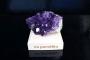 Ametyst drůza minerál kámen pro štěstí