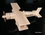 Dřevěné letadlo k narozeninám