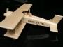 Dřevěné letadlo k narozeninám s textem
