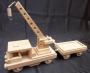 Drezína - vláčky ze dřeva