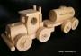 Cisterna hračka, dřevěn kamion