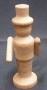 Didaktická stavebnice figurka ze dřeva