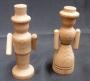 Stavebnice dřevěné figurky
