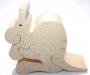 Dřevěná figurka klokan