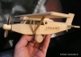 Pilatus dřevěné letadlo se jménem