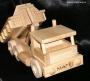 Nákladní autíčko dřevěná hračka