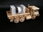 Dřevěné nákladní auto s výklopným kontejnerem