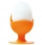 Silikonový stojánek na vejce - oranžový