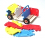 Pěnová hračka,  kabriolet pro holky i kluky