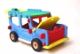 3D pěnová hracka offroad jeep