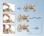 Skládací stavebnice 3D traktor
