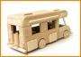 Karavan dřevěné hračky