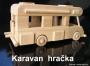 Dárek pro karavanisty - dřevěný karavan