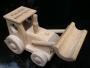 Dárek traktor hračka za dřeva