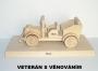 Auto veterán hracky dárky dřevěné