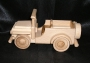 dřevěné auto vojenský jeep