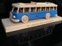 Modrý autobus RTO dárek pro řidiče k narozeninám