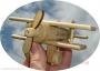 Dřevěné hračky letadla