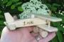 Malé 100 % dřevěné letadlo do 12 znaků