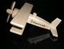 dřevěné letadlo včetně textu do 12 znaků