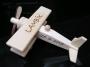 Malé 100 % dřevěné letadlo
