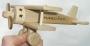 Malé 100 % dřevěné letadlo včetně