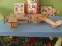 Letadlo dvouplošník, dřevěné hračky
