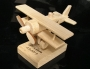 Letadlo na stojánku hračka