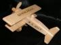 Nákladní autíčko a letadýlko ze dřeva