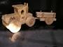 Lesní traktor hračka