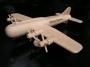 Vojenské letadlo hračka pro děti