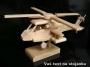 Vojenský vrtulník dárky