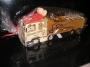 Dárková láhev, sklo, kamion, truck
