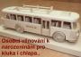Hračky s věnováním autobus Honzík