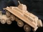 Dřevěná vojenská hračka